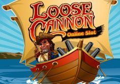 Loose Cannon Pokie Logo