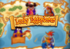 Lucky Eggsplorer Pokie Logo