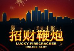 Lucky Firecracker Pokie Logo