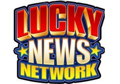 Lucky News Network Pokie Logo
