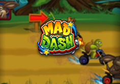 Mad Dash Pokie Logo
