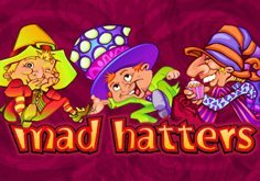 Mad Hatters Pokie Logo