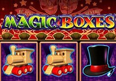 Magic Boxes Pokie Logo
