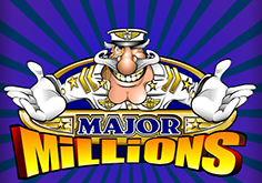 Major Millions 3 Reel Pokie Logo