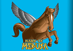 Mark Of Medusa Pokie Logo