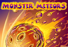 Monster Meteors Pokie Logo
