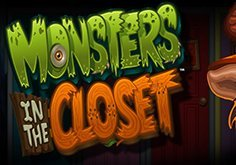 Monsters In The Closet Pokie Logo