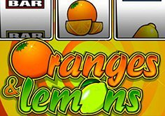 Oranges And Lemons Pokie Logo