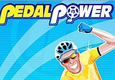 Pedal Power Pokie Logo