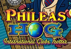 Phileas Hog Pokie Logo