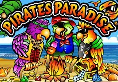 Pirates Paradise Pokie Logo
