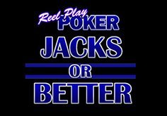 Reel Play Poker Jacks Or Better Pokie Logo
