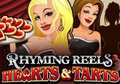 Rhyming Reels Hearts And Tarts Pokie Logo