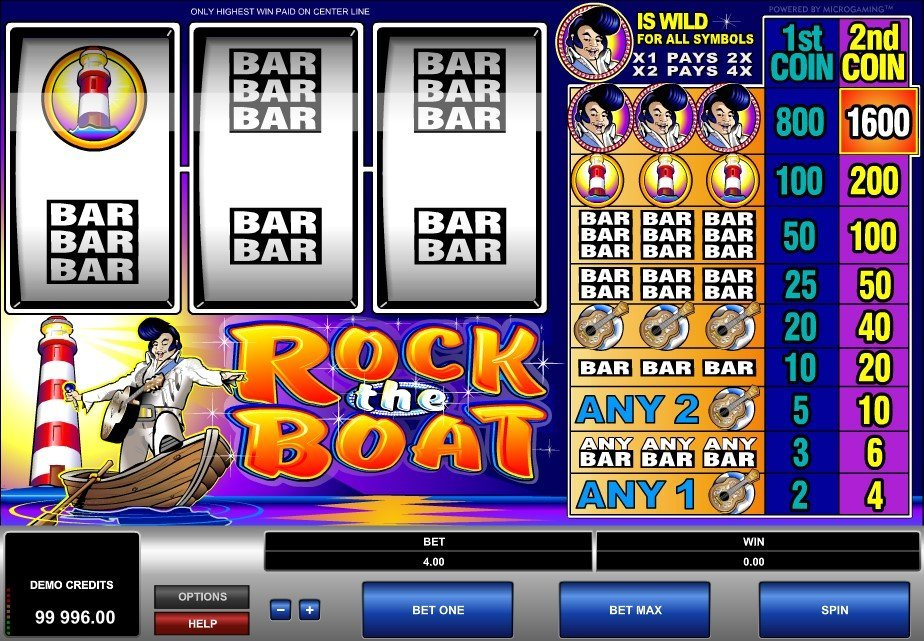 Rock The Boat Pokie