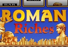 Roman Riches Pokie Logo