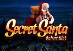 Secret Santa Pokie Logo