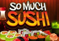 So Much Sushi Pokie Logo