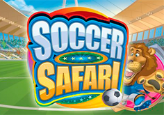 Soccer Safari Pokie Logo