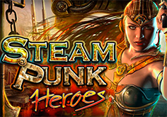 Steam Punk Heroes Pokie Logo