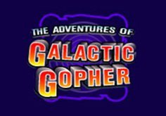 The Adventures Of Galactic Gopher Pokie Logo