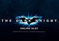 The Dark Knight Pokie Logo