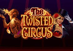 The Twisted Circus Pokie Logo