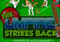 The Umpire Strikes Back Pokie Logo