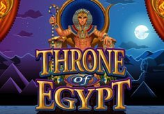 Throne Of Egypt Pokie Logo