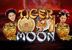 Tiger Moon Pokie Logo