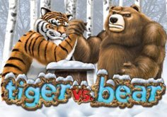 Tiger Vs Bear Pokie Logo