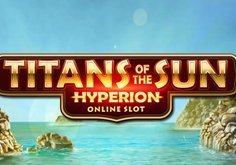 Titans Of The Sun Hyperion Pokie Logo