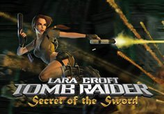 Tomb Raider Secret Of The Sword Pokie Logo