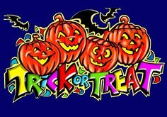 Trick Or Treat Pokie Logo