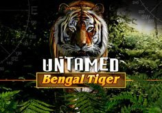 Untamed Bengal Tiger Pokie Logo