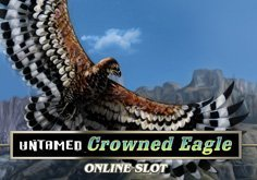 Untamed Crowned Eagle Pokie Logo