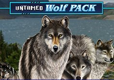 Untamed Wolf Pack Pokie Logo