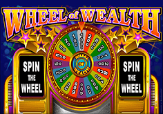 Wheel Of Wealth Pokie Logo
