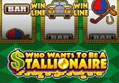 Who Wants To Be A Stallionaire Pokie Logo