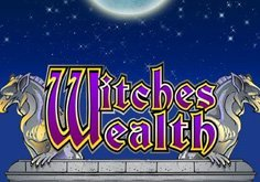 Witches Wealth Pokie Logo
