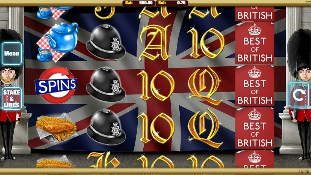 Best Of British Pokie