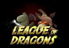 League Of Dragons Pokie Logo