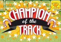 Champion Of The Track Pokie Logo