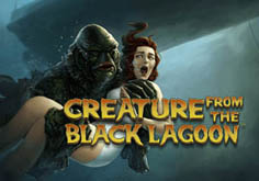 Creature From The Black Lagoon Pokie Logo