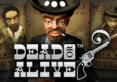 Dead Or Alive Pokie Logo
