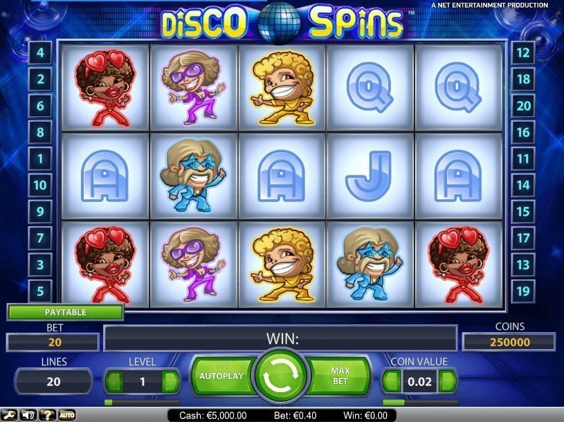 Disco Spins Pokie