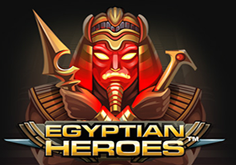 Egyptian Heroes Pokie Logo