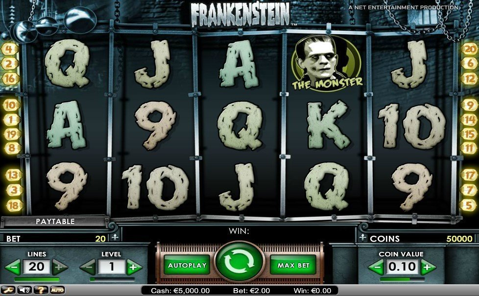 Frankenstein Pokie
