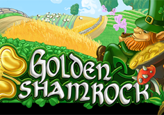 Golden Shamrock Pokie Logo