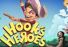 Hook 8217s Heroes Pokie Logo