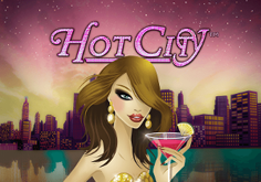 Hot City Pokie Logo